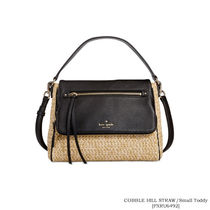 【Kate Spade】COBBLE HILL STRAW small toddy[PXRU6492]