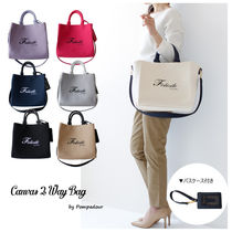 【NEW】【Pompadour】Canvas 2Way Bag パスケースつき