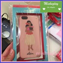【kate spade】日本未入荷★jeweled hula girl' iPhone6/6s case