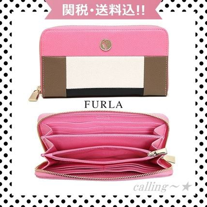 ≪即納≫関税.送料込!!★FURLA★PIPER XL ZIP AROUND