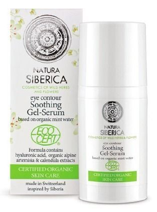 NATURA SIBERICA Gel-serum for eye contour 目元用