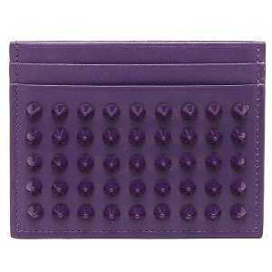 Christian Louboutin 1135027-L009-VIOLET カードケース