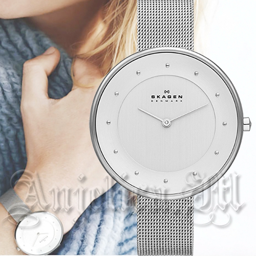 ★人気商品★SKAGEN Gitte White Dial Watch SKW2140
