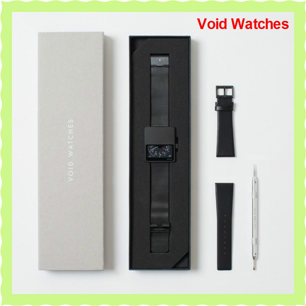 関・送込!【Void Watches】V02MKIIギフトセットBlack/Black