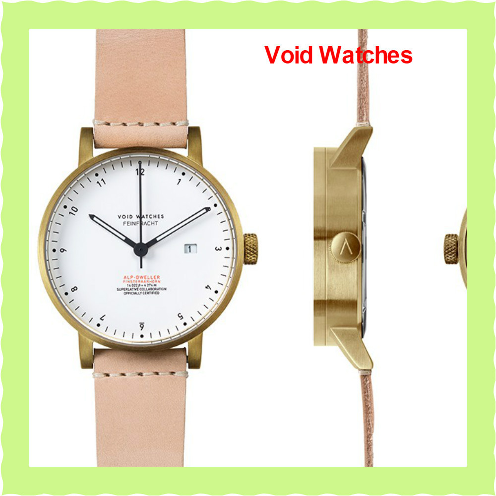 関・送込!【Void Watches】V03Dデイト表示 White/Black