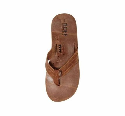 DRAFTSMEN FULL GRAIN LEATHER FLIP FLOPS