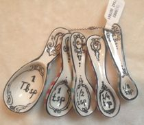 【UK購入】Anthropologie♡Pescadoro Measuring Spoons
