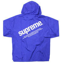 Supreme SS16 Nylon Packable Poncho 青 Size SMALL
