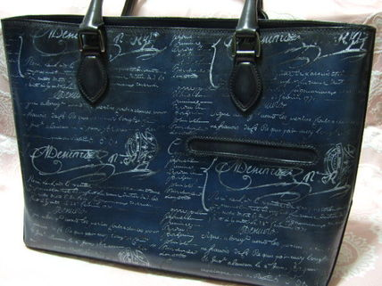 Blue Patine rarities berluti TOUJOURS bag