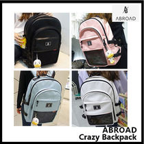 ABROAD(エイビーロード) バックパック・リュック ABROAD Crazy Backpack バックパック 4色 収納ポケット16ケ所