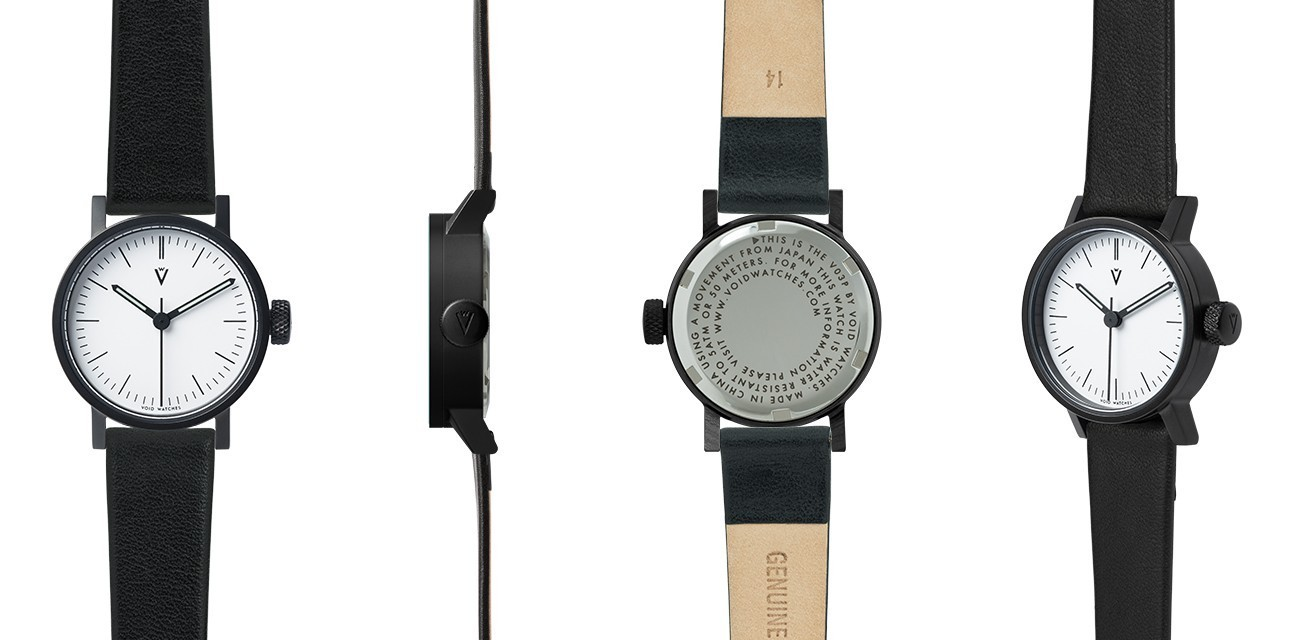 関・送込!【Void Watches】V03P PETITEウォッチWhite/Black