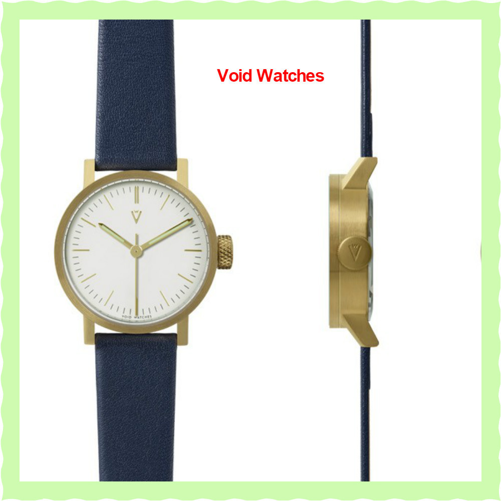 関・送込【Void Watches】V03P PETITEウォッチWhite/RoyalBlue