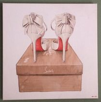 Oliver Gal★Wedbliss Shoes★キャンパスアート 4サイズ