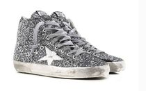 【関税負担】 GOLDEN GOOSE 16SS FRANCY GREY GLITTER