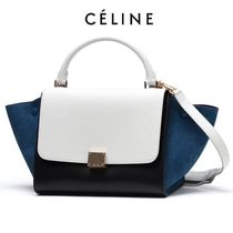 2016SS新作 ★ CELINE ★ SMALL TRAPEZE ハンドバッグ 2WAY