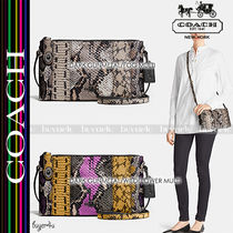 COACH★CROSBY CROSSBODY PIECED EXOTIC EMBOSSED LEATHER 37172