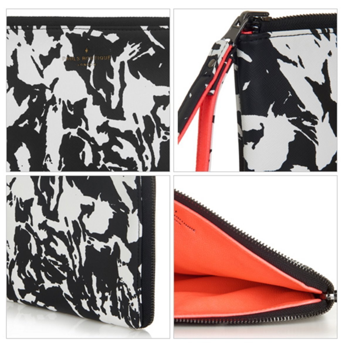 【PAULS BOUTIQUE】クラッチバッグ★MINI FLEUR MARBLE PRINT