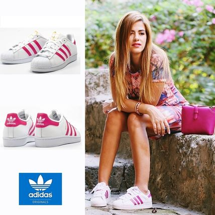 Without ' * genuine Adidas Superstar money Vero White x pink