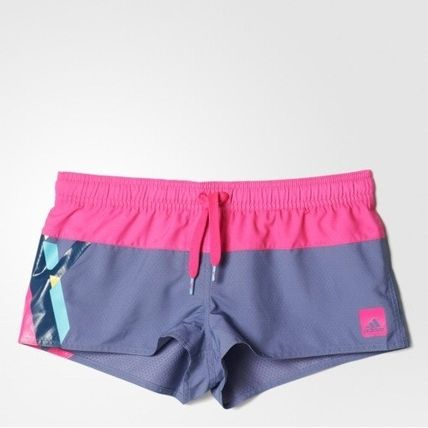 (アディダス) ADIDAS Women's Swim BG2 Shorts AJ7941