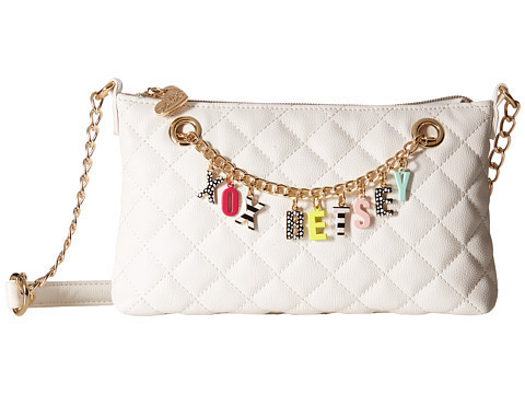 SALE☆ Betsey Johnson クロスボディ Give Me チェーンチャーム