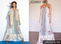 Johnny was(ジョニーワズ ) ワンピース ★在庫一掃セール★Johnny wasーFloral-Print Silk Maxi Dress★