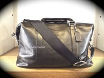 【Coach】本革製/LEATHER EXPLORER DUFFLE F93471/ブラック