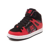 DC Shoes(ディーシーシューズ) メンズ・シューズ Youth/Tween DC Rebound Skate Shoe[送料込み]  Red/Black/Digi
