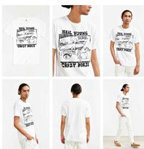Made in USA★Urban Outfitters★ニールヤングZumaTシャツ-White