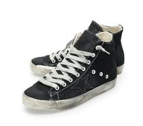 【関税負担】 GOLDEN GOOSE FRANCY CANVAS BLACK