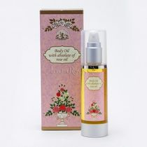 WHOLE FOODS MARKET(ホールフーズマーケット) ボディケアその他 Bulgaria Rose〓BODY OIL WITH ROSE ABSOLUTE