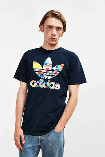 【送料無料】adidas Stacked International Tee Tシャツ