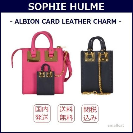 2016 SS SOPHIE HULME Albion leather charm bag