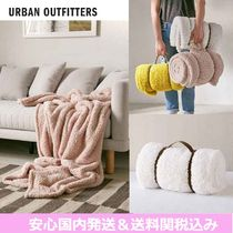 Urban Outfitters(アーバンアウトフィッターズ) ブランケット Urban Outfitters☆ふわふわフリースブランケット3色*国内発送