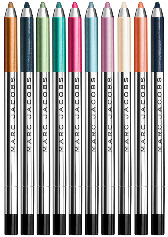 MARC JACOBS*アイライナー Highliner Gel Crayon 24色から2本♪