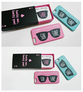 「LuckyMe LuckyYou」 ピンクグラデーション PInkGradation