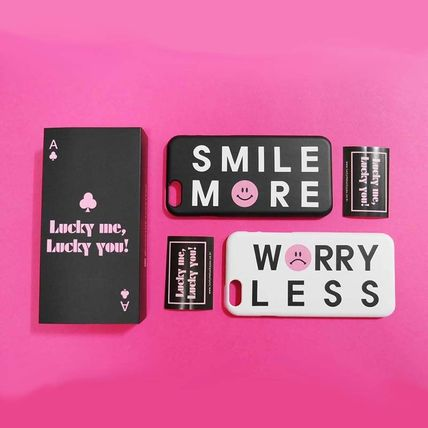iPhone・スマホケース 「LuckyMe LuckyYou」 スマイル エモーティコン Smile Emoticon
