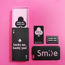 「LuckyMe LuckyYou」 スマイル フォント SmileFont