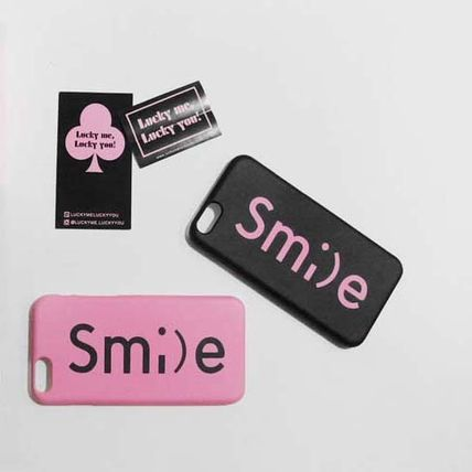 iPhone・スマホケース 「LuckyMe LuckyYou」 スマイル フォント SmileFont(5)