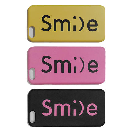 iPhone・スマホケース 「LuckyMe LuckyYou」 スマイル フォント SmileFont(6)