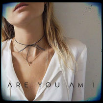 ARE YOU AM I LILOU LEATHER CHOKER チョーカー シングル 大人気