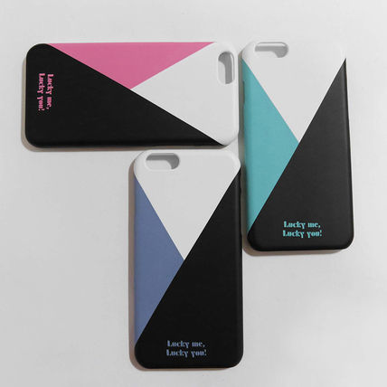 iPhone・スマホケース 「LuckyMe LuckyYou」 カラーマッチ ColorMatch(5)