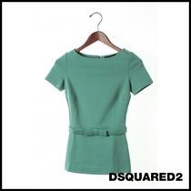 D SQUARED2(ディースクエアード) Tシャツ・カットソー 関税.送料込 Dsquared2 Tシャツ [XS]OUTLET
