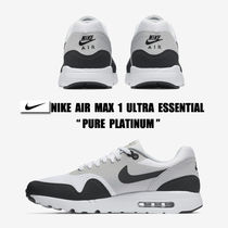 NIKE☆AIR MAX 1 ULTRA ESSENTIAL☆PURE PLATINUM☆25~30cm