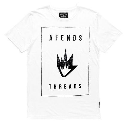 Afends☆5色☆ロゴ スリム Tシャツ