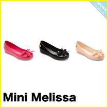 【Melissa】メリッサ Kid's Ultragirl Bow II Peep-Toe Flats
