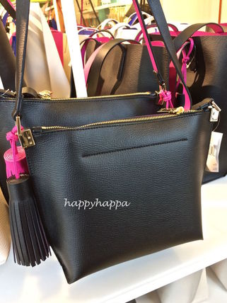 kate spade new york ショルダーバッグ・ポシェット 【kate spade】7月新作☆pepperタッセル付ポシェットblack(5)
