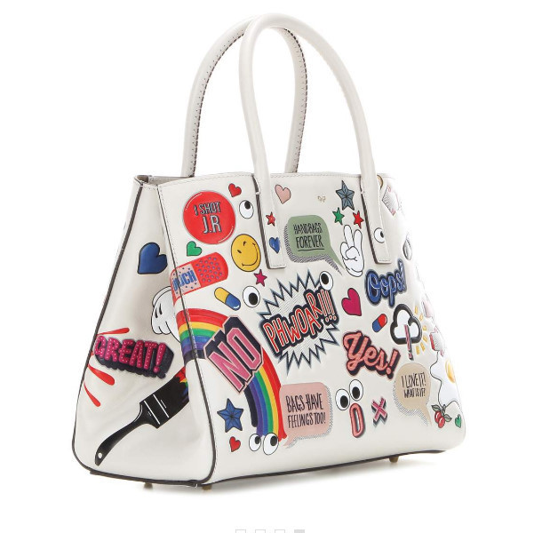 入手困難 Anya Hindmarch All Over Stickers Small EBURY トート