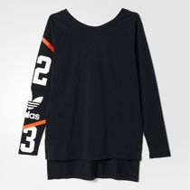 アディダス ADIDAS Women's Original BASKETBALL LS TOP AJ8864