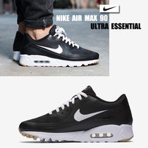 NIKE★AIR MAX 90 ULTRA ESSENTIAL★メッシュ★25~30cm★黒×白