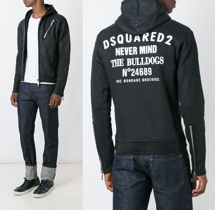 16-17AW DSQUARED2 ジップアップパーカー S74HG0023S25030961
